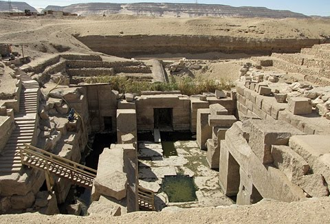Osirian in Abydos